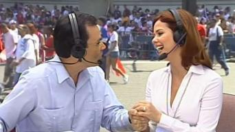 Jorge Ramos en vivo durante los desfiles boricuas