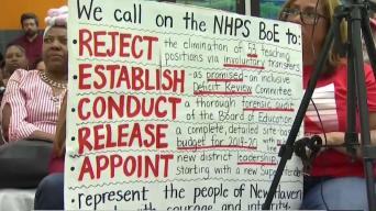 Junta Escolar de New Haven Planea recortar maestros