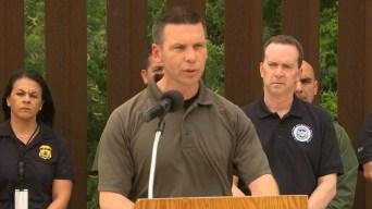 """McAleenan: """"Nuestros recursos están siendo agotados"""""""
