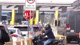 Motociclistas piden mejores condiciones en garita