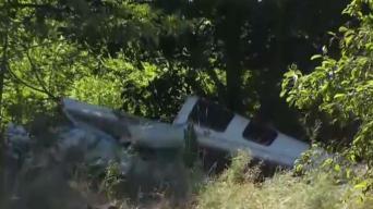 Fallece piloto de avión estrellado en Plainville