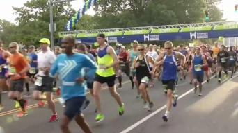 Preparativos para Maratón Eversource en Hartford