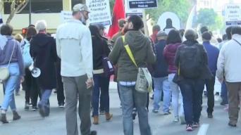 Protesta por el derecho a pedir asilo en San Diego