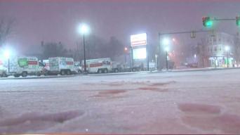 Residentes enfrentan nevada sin calefacción