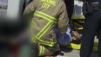 Cartero continúa recuperándose tras ser atropellado