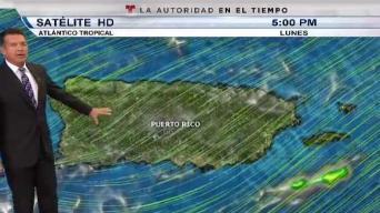 Vaguada provoca lluvias sobre la región