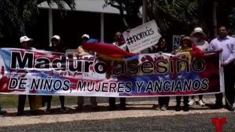 Venezolanos en Puerto Rico apoyan la operación libertad