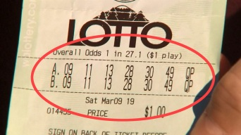 Jugador de lotería logra algo más difícil que ganar el premio