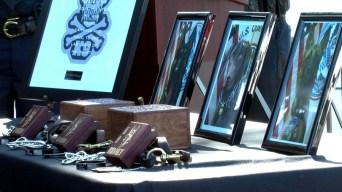 Homenaje póstumo a perros que lograron grandes decomisos de drogas