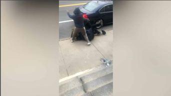 Policía: 2 hombres atacan a mujer embarazada en Quincy