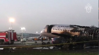 Avión que se incendió ya había sufrido otro percance