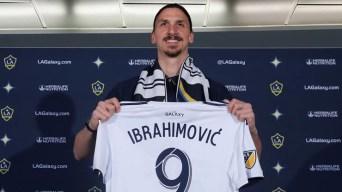 El astro Zlatan Ibrahimovic llega para conquistar la MLS