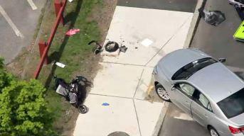 Abuela e infante impactados por auto en Worcester