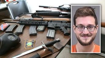 Lo arrestan tras supuesta amenaza de matanza armada