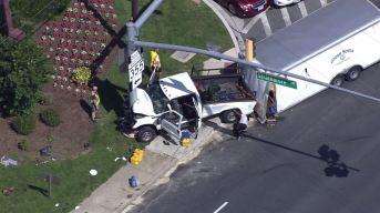 Al menos siete heridos tras choque en la Rockville Pike