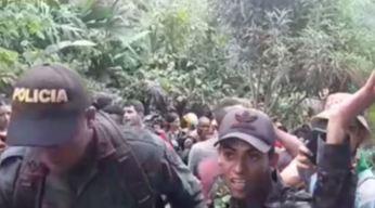 Caravana de cubanos intenta entrar a Panamá