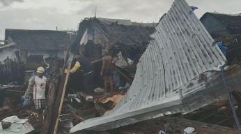 Fuerte tifón deja varios muertos en Filipinas