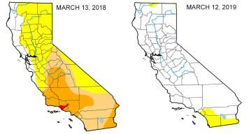 Invierno ayuda a California a superar la sequía