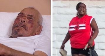 Lectura de cargos a mujer que atacó a anciano