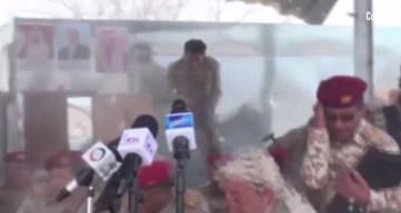 En cámara: dron asesino siembra de sangre un desfile