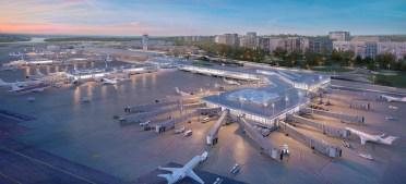 Un vistazo a los planos de renovación del Aeropuerto Reagan