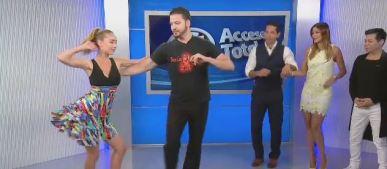 ¡Audris Rijo aprende a bailar salsa!