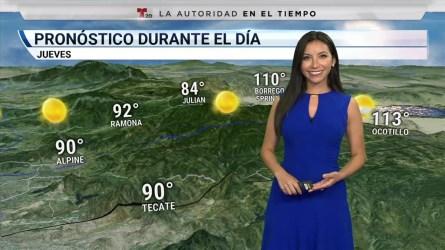 Descenso en temperaturas dentro de la región