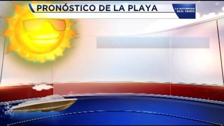 Las Condiciones del Tiempo con la meteoróloga  Andrea Romero.