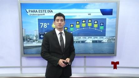 Pronóstico del tiempo para el 22 de noviembre en el Área de la Bahía de Tampa