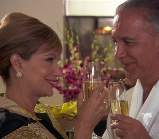 Francisca y Vicente se ven en un hotel. Paula los sigue, se hace pasar ...