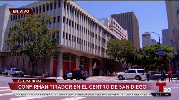 Confirman Tirador Activo En El Centro De San Diego Telemundo 47