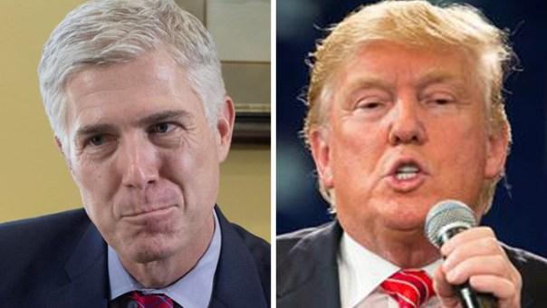 """Nominado para el Supremo """"decepcionado"""" con Trump"""