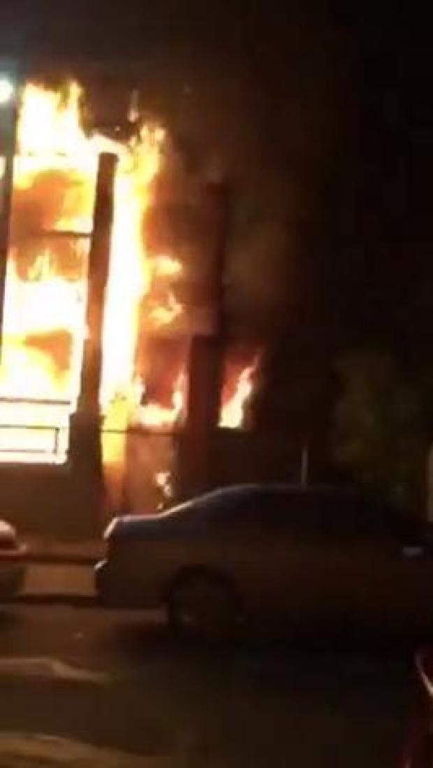 Fuego de dos alarmas en Dorchester
