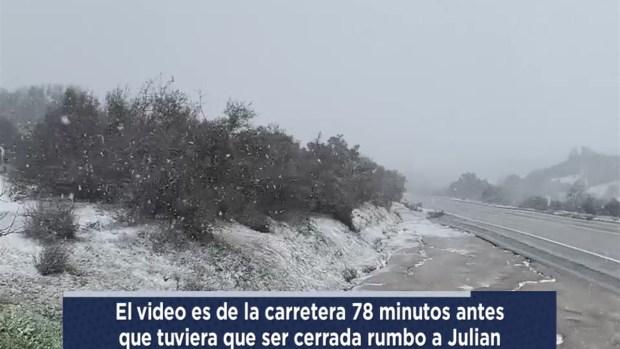 [TLMD - SD] Nieve en el desierto Anza Borrego
