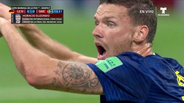 [World Cup 2018 PUBLISHED] ¡Solo contra el mundo! Marcus Berg se pierde el gol sueco
