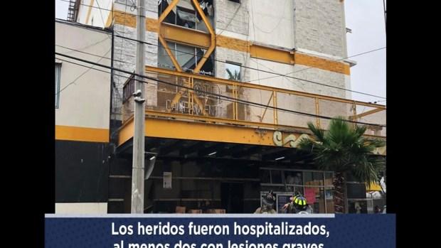 [TLMD - SD] Explosión  Hotel Campamento en Tijuana zona Norte