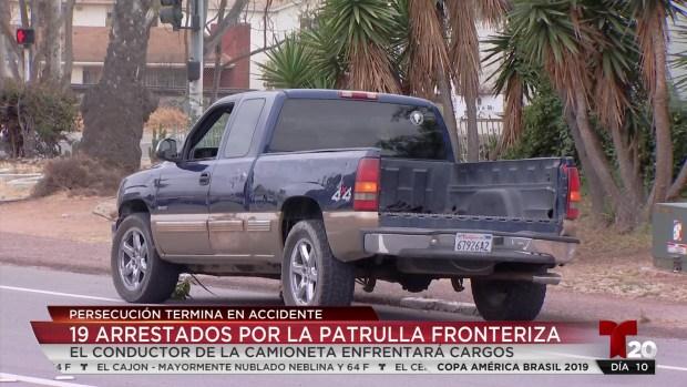 [TLMD - SD] Patrulla Fronteriza arresta a 19 personas