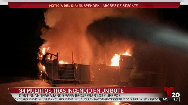 [TLMD - SD] 34 muertos tras incendio en un bote