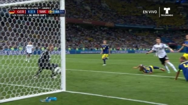 [World Cup 2018 PUBLISHED] ¡Gol!, Alemania revive con gol de Marco Reus