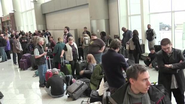[TLMD - MIA] Aeropuerto Atlanta falla eléctrica
