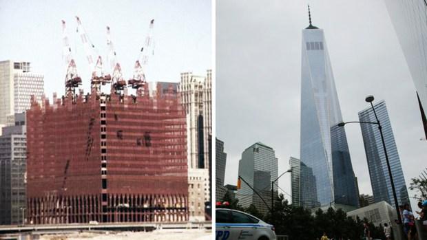 La Zona Cero: antes y después
