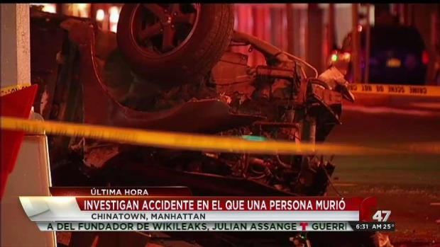[TLMD - NY] Adolescente muere en aparatoso accidente en Brooklyn