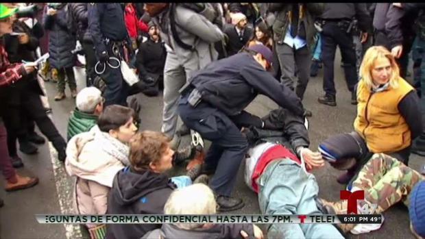 [TLMD - NY] Arrestos durante manifestación en Nueva York
