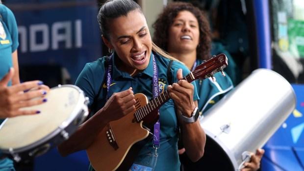 [WWC 2019] ¡Puro Brasil! Llega a ritmo de samba y con Marta tocando el ukelele