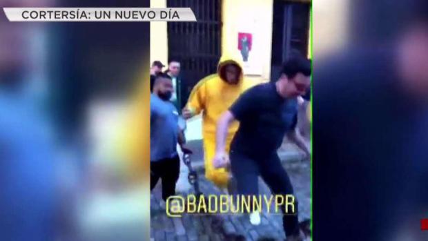 Bad Bunny y Jimmy Fallon hace de las suyas en San Juan