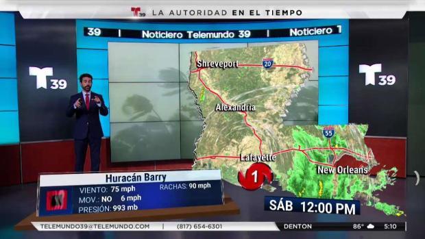[TLMD - Denver] Barry: pronóstico en las próximas horas