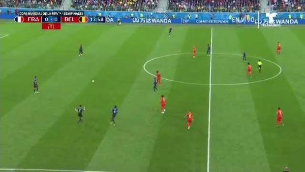 Bélgica intenta al arco ... sin suerte