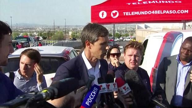 """Beto O'Rourke sobre tiroteo en El Paso: atacante tiene """"odio para los migrantes, miedo de los hispanos"""""""