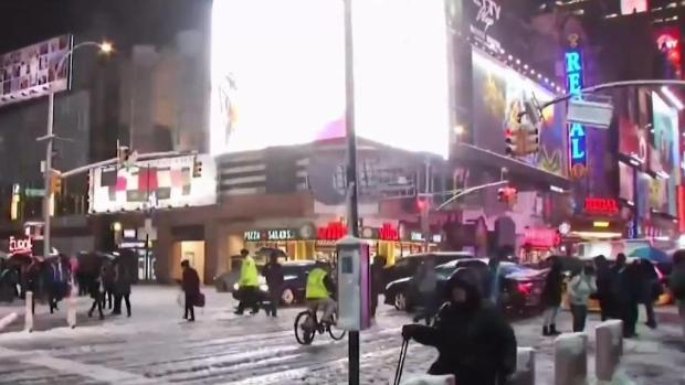 Bill de Blasio responde a críticas tras devastadora nevada