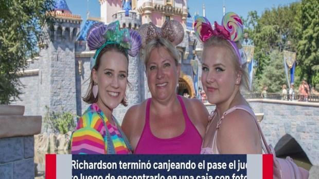 [TLMD - NATL] Gana pase gratis a Disneyland y lo usa 34 años después California